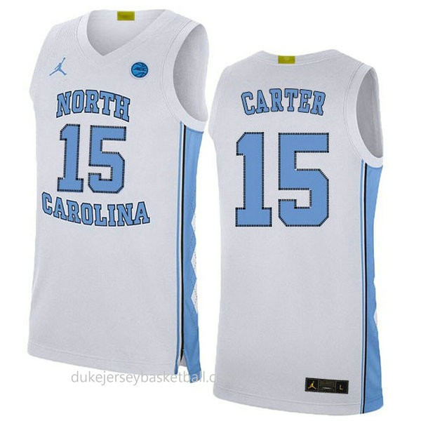 Vince Carter North Carolina Tar Heels #15 Limited College Basketball Mens Blue Jersey