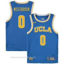 Russell Westbrook Ucla Bruins 0 Authentic College Basketball Mens Blue Jersey
