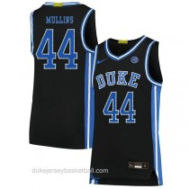 Womens Jeff Mullins Duke Blue Devils #44 Swingman Black Colleage Basketball Jersey