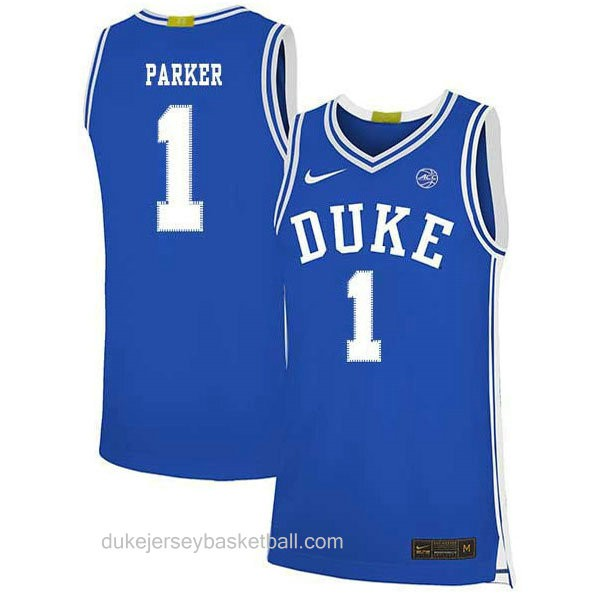 Mens Jabari Parker Duke Blue Devils #1 Swingman Blue Colleage Basketball Jersey