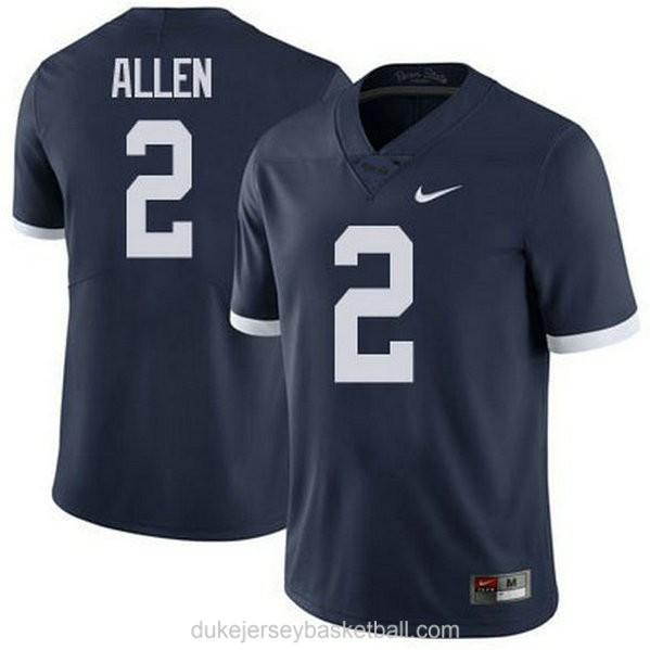 Mens Marcus Allen Penn State Nittany Lions #2 Limited Navy College Football C012 Jersey