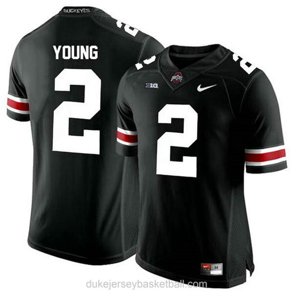 Womens Chase Young Ohio State Buckeyes #2 Game Black College Football C012 Jersey