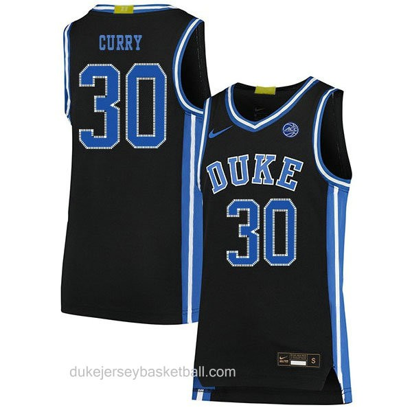 Womens Seth Curry Duke Blue Devils #30 Limited Black Colleage Basketball Jersey