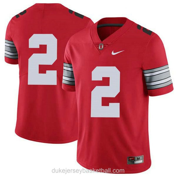 Youth Chase Young Ohio State Buckeyes #2 Champions Limited Red College Football C012 Jersey No Name